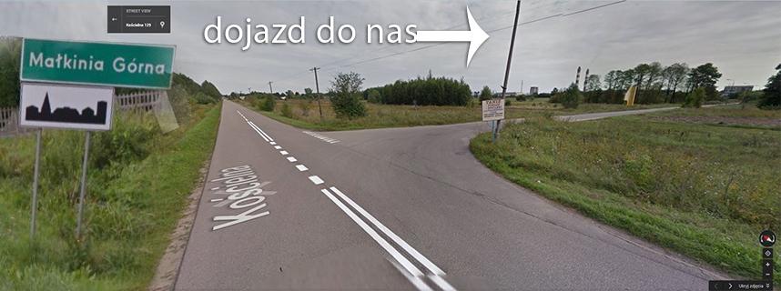 dojazd na stroné gøówná